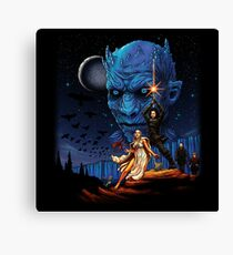 Throne Wars Canvas Print