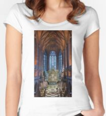 Liverpool Anglican Cathedral Women's Fitted Scoop T-Shirt