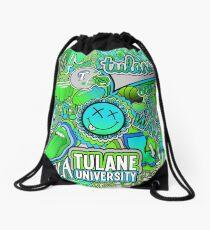 Tulane Collage Drawstring Bag