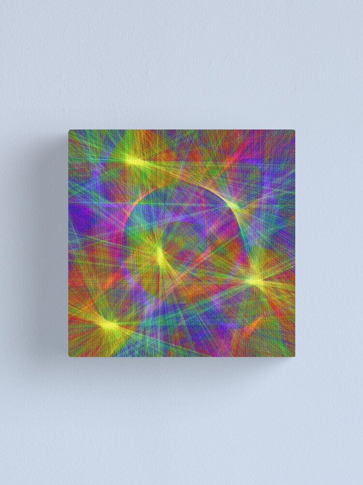 Alternate view of Disco stage lights Canvas Print