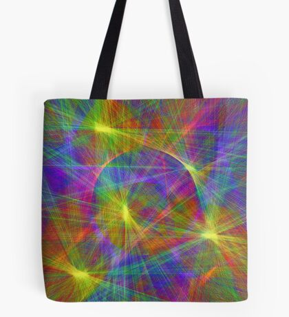Disco stage lights Tote Bag