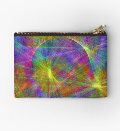 Disco stage lights Zipper Pouch