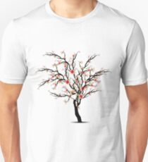 Cherry Blossoms Tree Unisex T-Shirt