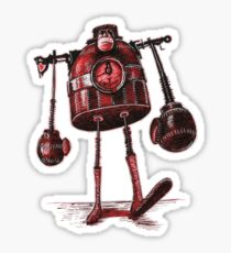 Boxing Bot Sticker