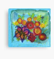 Persian Flowers Canvas Print