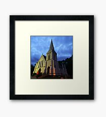 Moody reference   Framed Print