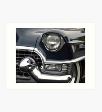 1956 Cadillac Sedan DeVille Art Print