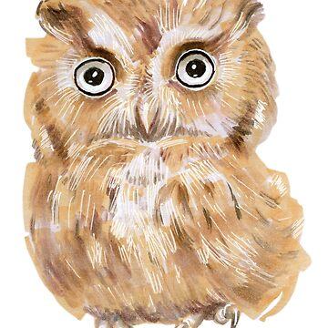 Owl by KKartist