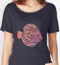 Discus fish Women's Relaxed Fit T-Shirt