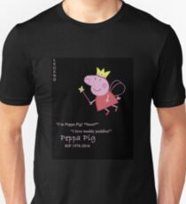 Peppa Pig. Rest in Peace, Angel. Unisex T-Shirt