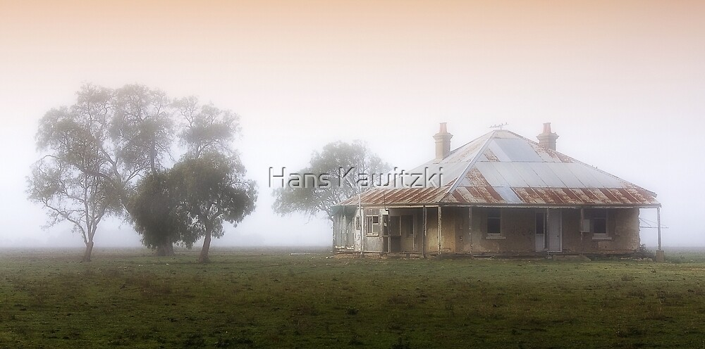 Old Cottage - Geelong by Hans Kawitzki