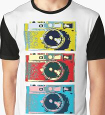 3 Leica M9s Graphic T-Shirt