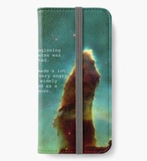 Hitchhiker's Guide Quote iPhone Wallet/Case/Skin