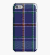 00464 Blue Ridge Highlands Heritage District Tartan  iPhone Case/Skin
