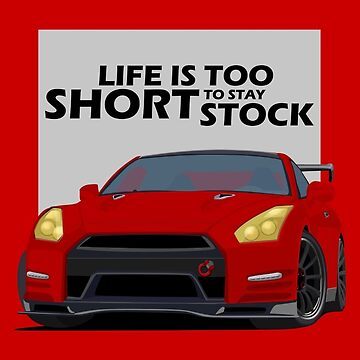 Life is too short to stay stock by Subspeed