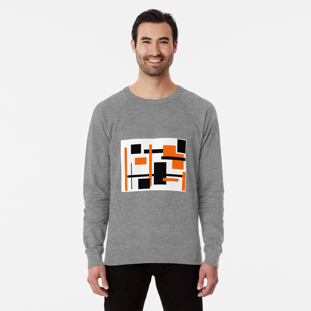 Rectangular Pattern 48  Lightweight Sweatshirt