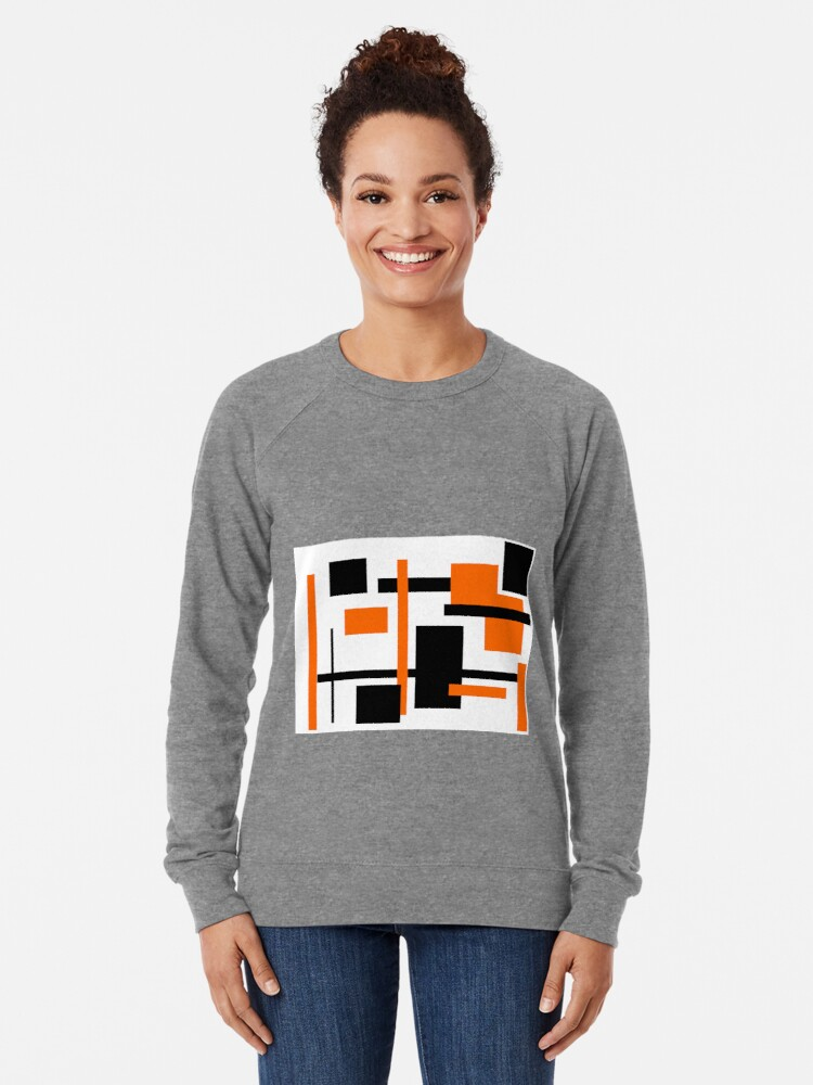 Alternate view of Rectangular Pattern 48  Lightweight Sweatshirt
