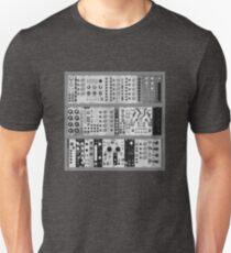 Eurorack Modular 9U T-Shirt Unisex T-Shirt
