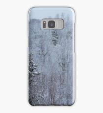 A snowy spring scene. Samsung Galaxy Case/Skin