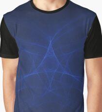 Star of the Blue Sea | Original Fractal Art  Graphic T-Shirt