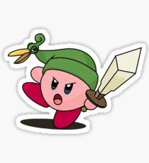 Minish Kirby Sticker