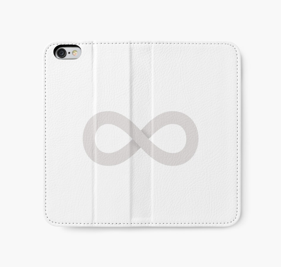 The 100 infinity symbol iphone wallets by thezdesign redbubble the 100 infinity symbol biocorpaavc Choice Image