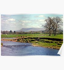 Ribble & Pendle Poster