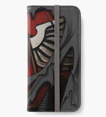 Blood Angels Rüstung iPhone Flip-Case/Hülle/Skin