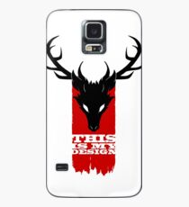 Feathers, Antlers, and Nightmares Case/Skin for Samsung Galaxy