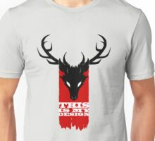 Feathers, Antlers, and Nightmares Unisex T-Shirt