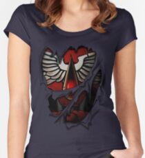 Blood Angels Armor Women's Fitted Scoop T-Shirt