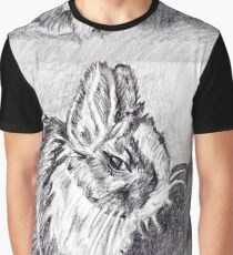 Scraggly Bunny Graphic T-Shirt