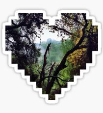 Heart Into the Forest Sticker