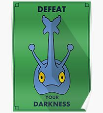 Heracross - Defeat Your Darkness Poster