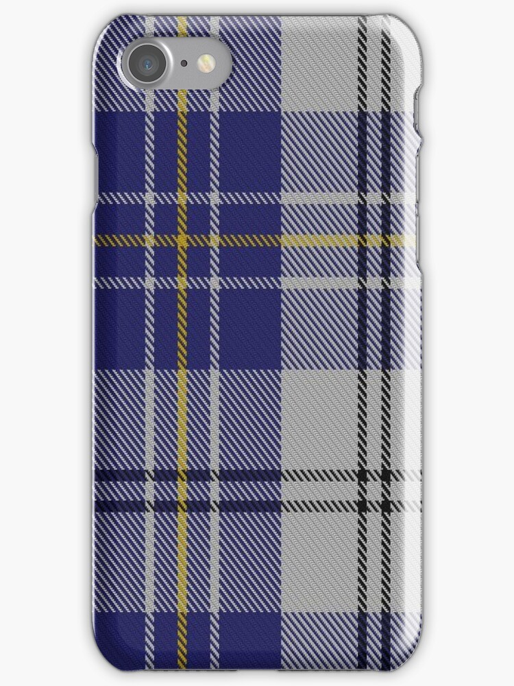 00496 MacPherson Dress Blue (Dance) Clan/Family Tartan by Detnecs2013