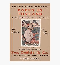 Artist Posters Babes in toyland by Glen MacDonough and Anna Alice Chapin 0425 Photographic Print