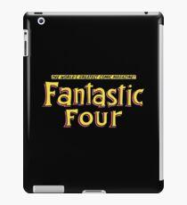 Vinilo o funda para iPad Cuatro fantásticos - Título clásico - Limpio