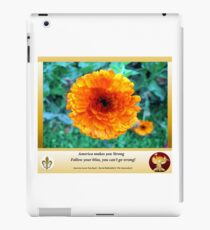 America Strong Sunflower Covers iPad Case/Skin