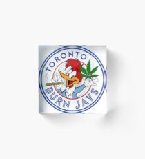 Toronto Burn Jays Acrylic Block