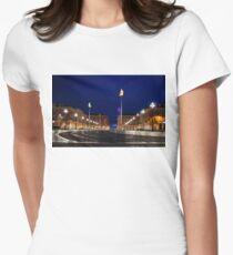 Nice, France - Place Massena Blue Hour  T-Shirt