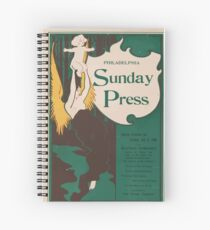 Artist Posters Special features for Sunday Jan 5 1896 0508 Spiral Notebook