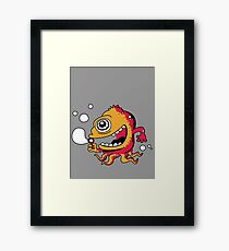 bubble Beast Framed Print