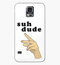 Suh Dude meme | Black Letters Case/Skin for Samsung Galaxy