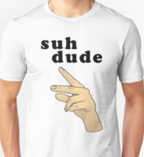 Suh Dude meme | Black Letters T-Shirt