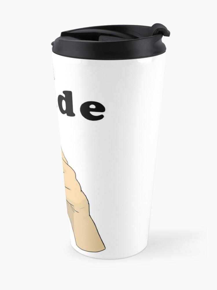 Alternate view of Suh Dude meme | Black Letters Travel Mug