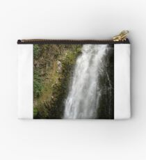 Water Rushing Over the Peguche Waterfall Studio Pouch