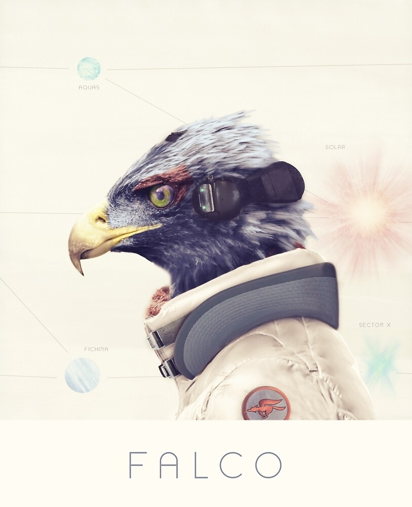 Star Team - Falco by Andy Wynn