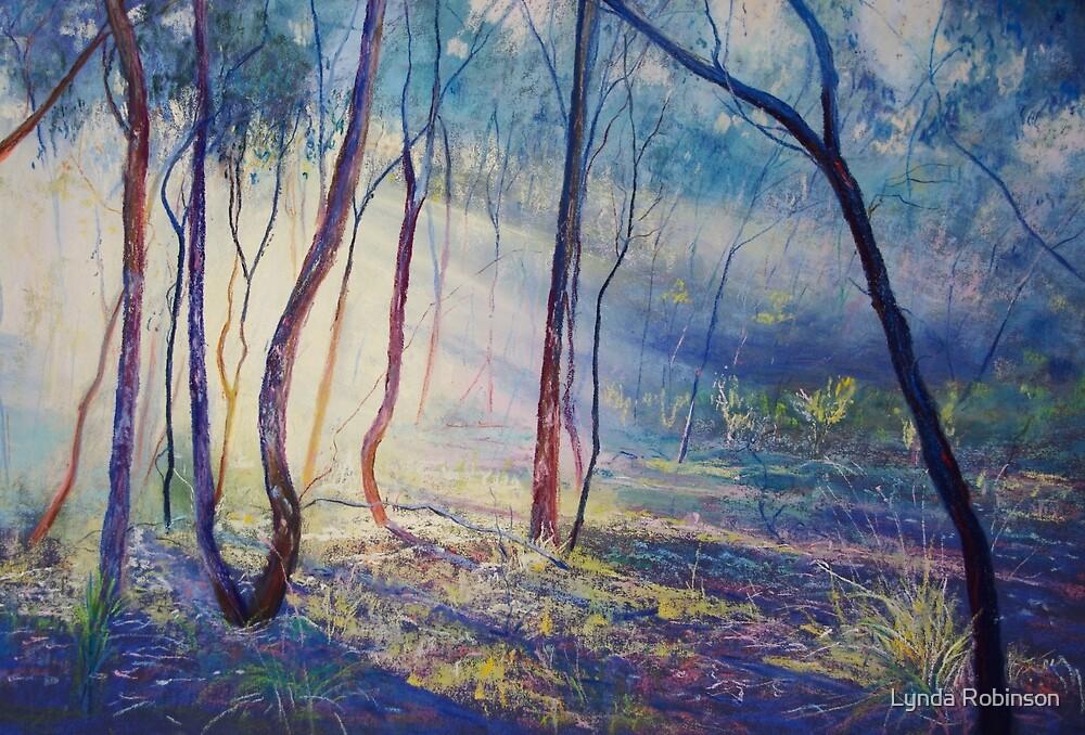 Ironbark Country Morning by Lynda Robinson