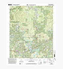 USGS TOPO Map Alabama AL Houston 304204 2000 24000 Photographic Print