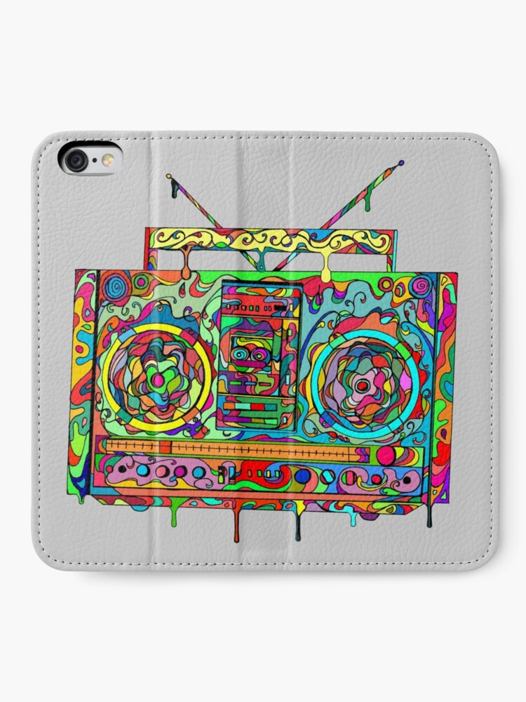 Alternate view of Boom Box iPhone Wallet